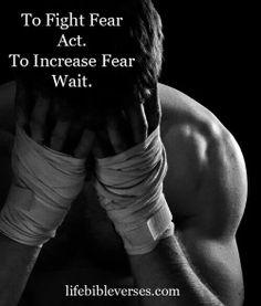 Fear..increase vs. Decrease