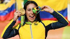 JUEGOS OLÍMPICOS RÍO 2016: MARIANA PAJÓN REPITE ORO PARA COLOMBIA EN CICLISMO…
