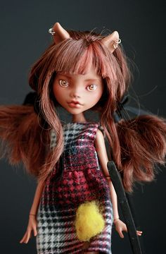 Clawdeen by Kittytoes, via Flickr