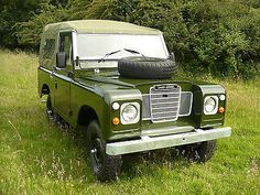 LAND ROVER SERIES 3 PETROL SOFTTOP 88IN