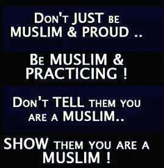 Let's show what does our Islam really mean :)