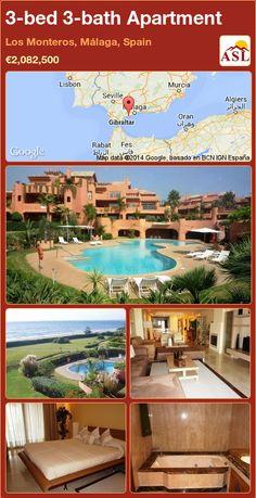 3-bed 3-bath Apartment in Los Monteros, Málaga, Spain ►€2,082,500 #PropertyForSaleInSpain