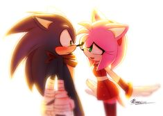 So... Sonic likes Amy in Sonic Boom by Myly14.deviantart.com on @deviantART