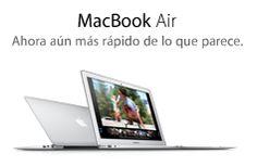 MacBookAir. Ahora aún más rápido de lo que parece.