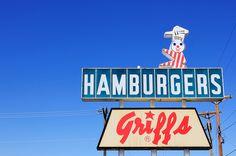 Griff's Hamburgers - by Mike Garofalo  On Admiral -Tulsa