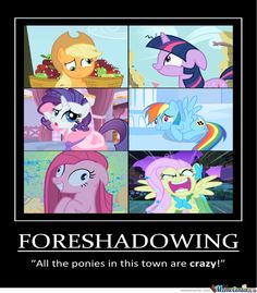 funny mlp pictures with captions | Mlp Foreshadowing