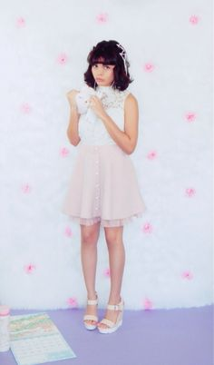 Check out where to get this adorable larme kei and bunny inspired look at MyPetitePenGal.com - a blog dedicated to sweet and girly larme kei and kawaii styles! #kawaii #larmekei