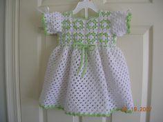 Ravelry: Granny Yoke Dress pattern by Valerie Moffitt