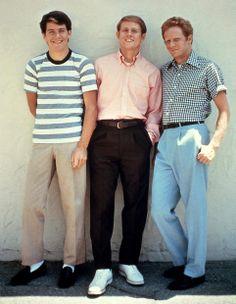 """Warren """"Potsie"""" Weber (Anson Williams), Richie Cunningham (Ron Howard), Ralph Malp (Donny Most) in Happy Days."""