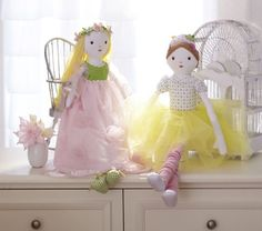 Spring Princess Doll, I'm eyeing you! #potterybarnkids