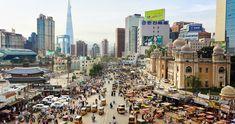 Hybrid Cities: Photo Manipulations by Margarita Zhitnik & Duck Knees – Inspiration Grid | Design Inspiration #photography #photomanipulation #mashup #city #cityscape #travel #inspirationgrid