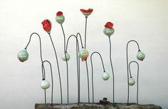 Picardie Poppies - stoneware