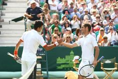 Another great match between Djokovic & Gasquet today at Wimbledon - we loved having them both at The Boodles 2015!