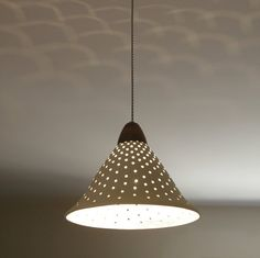 A big hanging lamp cone shaped light fixture white door light4you, $169.00