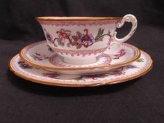 Royal Worcester Bone China Antique tea cup by Collectablesgalore, £29.95