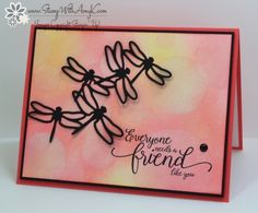 Stampin' Up! Suite Sentiments and Dragonfly Dreams for the Totally Techniques Blog Hop – Stamp With Amy K