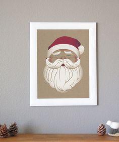 Look at this #zulilyfind! Santa Print #zulilyfinds