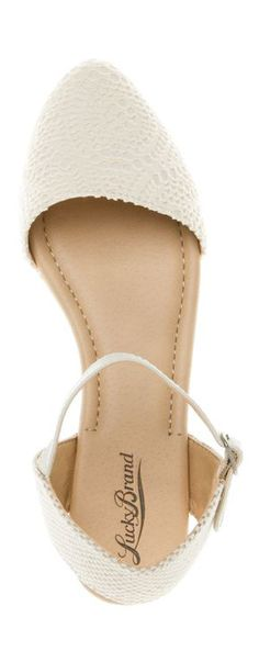 White Close Toe Sandals