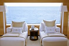 Frette Bespoke yacht bedding and linens