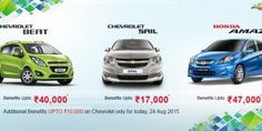 Car Offers & Discounts in August 2015 – Chevrolet cars & Honda Amaze Upcoming Cars, Bike News, Car Prices, Auto News, Automobile Industry, Latest Cars, News India, Car Ins, Chevrolet