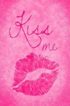 Kiss me pink – Poster Burberry Wallpaper, Lip Wallpaper, Hello Kitty Wallpaper, Cellphone Wallpaper, Cool Wallpaper, Wallpaper Backgrounds, Iphone Wallpapers, Ipad Background, Valentine Images