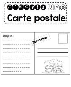 Teaching Writing, Writing Activities, Writing A Book, Teaching Resources, Teaching Ideas, Teaching French Immersion, French Worksheets, Kindergarten Language Arts, French Education