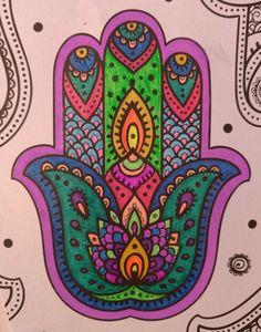 Hamsa Hand, Zentangles, Gel Pens, Future, Drawings, Creative, Diy, Fatima Hand, Hands