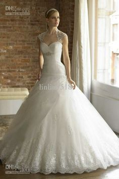 Craiboxcoza Strapless Aling Applique Sweep Length Stunning Lace Wedding Dresses South Africa At Wholesale Price P 1271