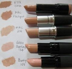 Best nude lip colors