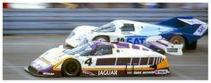 (4) Eddie Cheever - Jaguar XJR-8 - Silk Cut Jaguar - (10) Volker Weidler - Porsche 962C - Porsche Kremer Racing - 200 Meilen von Nürnberg - Supercup Norisring - 1987 ADAC Würth Supercup, round 2 - © Karsten Denecke