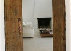 modern ibiza interior stone and wood - Google Search