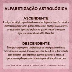 """Nessa seção """"Alfabetização astrológica"""" vou trazer alguns termos da Astrologia para que vocês possam aprender um pouco mais. Beijos da… Reiki, Signo Libra, Cancer Sign, Funny Thoughts, Book Of Shadows, Funny Signs, Wicca, Good To Know, Zodiac Signs"""