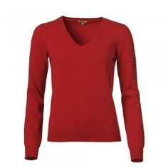 Deep Red Cashmere V-Neck Jumper - Our fabulous collection of cashmere jumpers work really well with our jackets. The deep red fabric is cashmere. Features include our wolfhound logo in tonal threads on the bottom left hand side and a v-neck. Cashmere Jumper, Donegal, Red Fabric, Tweed Jacket, Knitwear, Hand Weaving, Women Wear, Wolfhound, Jumpers