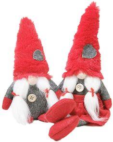 01 Handmade Swedish Tomte Scandinavian Figurine Elf Toy Doll Home Decor Crafttable 3 Pieces Christmas Gnomes Plush