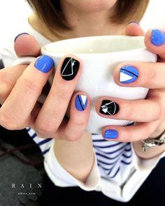 100 последних новинок дизайна ногтей ЗИМА-2019: фото, тренды, идеи Shellac Nail Designs, Shellac Nails, Nail Manicure, Minimalist Nails, Trendy Nail Art, Stylish Nails, Hot Nails, Hair And Nails, Metallic Nails