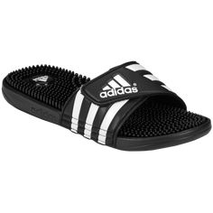 6161c1d291f7 The adidas adissage Slide features adjustable straps. PVC-free synthetic  bandage and lining. TPR footbed with massage nubs and print.