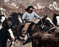 """Gauchos, Argentina  Photographer Jimmy Nelson has set out to capture pictures of as many of these groups as he could manage to meet over a two-year period in his """"Before They Pass Away"""" photo compilation."""