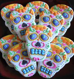 Sugar Skull Cookies.