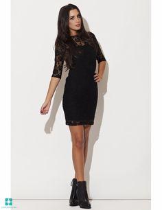 Sea Dress in Black Sea Dress, Lace Dress, Dress Up, High Neck Dress, Evening Dresses, Summer Dresses, Mini Dresses, Glamour, Costume