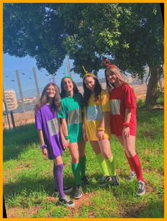 4 Person Halloween Costumes, Halloween Costumes For Teens Girls, Trendy Halloween, Halloween Outfits, Costumes Kids, 3 Person Costume, Group Costumes For 4, Turtle Costumes, Woman Costumes