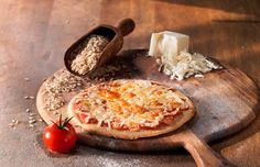Rice crust Pizza & it's GLUTEN FREE baby!