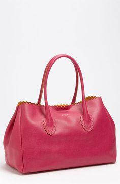 Furla 'Futura' Shopper available at Shopper Tote, Tote Bag, Furla, Timeless Fashion, Bring It On, Feminine, Nordstrom, Handbags, Leather