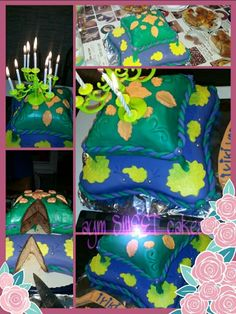 Orientalkissen Torte
