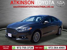 2015 Ford Fusion Titanium 20k miles $20,888 20748 miles 972-755-3728  #Ford #Fusion #used #cars #AtkinsonToyotaSouthDallas #SouthDallas #TX #tapcars