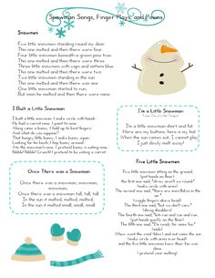 1000+ ideas about Preschool Poems on Pinterest ...