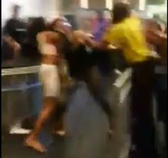 A fight broke out inside Baltimore's Horseshoe Casino on the first weekend after its grand opening.