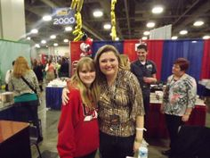 @ColleenHouck  It was great meeting you, and thanks for signing my books. :D @Taylir_Stocking