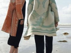 Wintervacht - recycled wool blanket coats