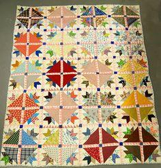1930's quilt    selvageblog.blogspot.com