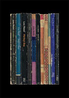 Lou Reed 'Transformer' Poster Print Album As Books Penguin Books